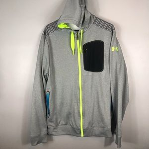 Men's Under Armour sweater jacket L